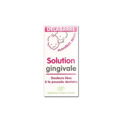 Solution Gingival Delabarre Teething 15ml