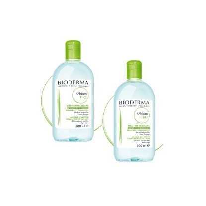BIODERMA Sebium H2O Solution micellaire 2X250 ml