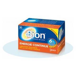 Bion Energie Continue Boite de 30 Comprimés