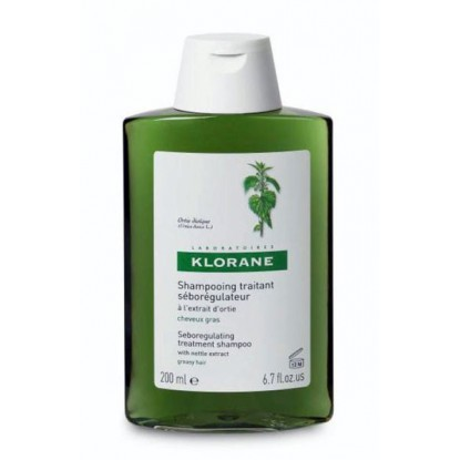 Klorane Nettle seboregulator Shampoo 400ml