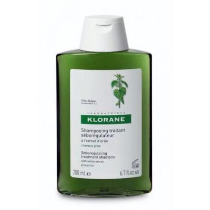 Klorane shampooing seboregulateur a l'ortie 400ml