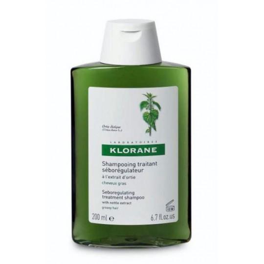 Klorane Nettle seboregulator Shampoo 400ml