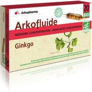 Arkofluide Ginkgo Ampoule 15ml