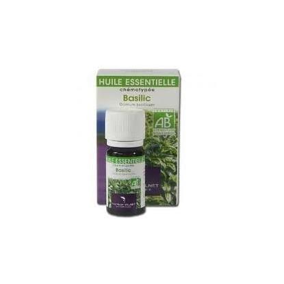 basilic huile essentielle bio Valnet 10ml