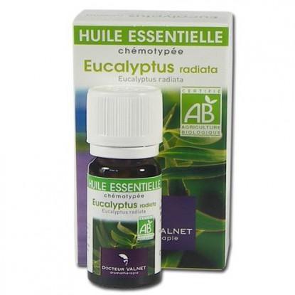 eucalyptus radiata huile essentielle bio Valnet 10ml