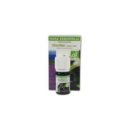 giroflier huile essentielle bio Valnet 5ml