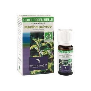 menthe poivrée huile essentielle bio Valnet 10ml