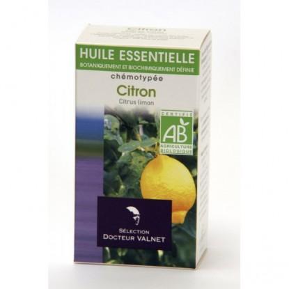 citron huile essentielle bio Valnet 10ml