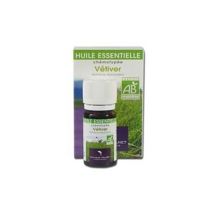 vetiver huile essentielle bio Valnet 10ml