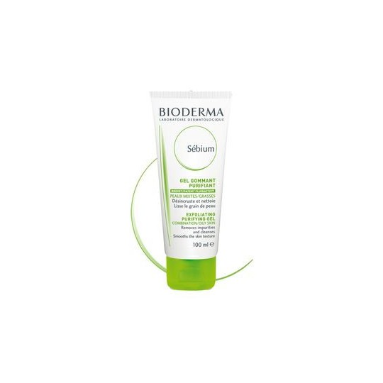Bioderma Sebium Gommant Gel Moussant 100ml