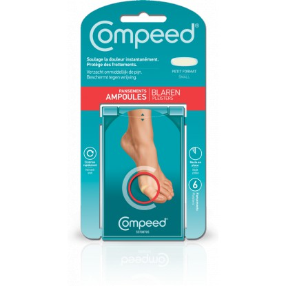 Compeed pansements ampoules small bte 6