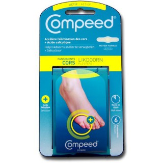 Compeed Pansement Cors Medium bte de 6