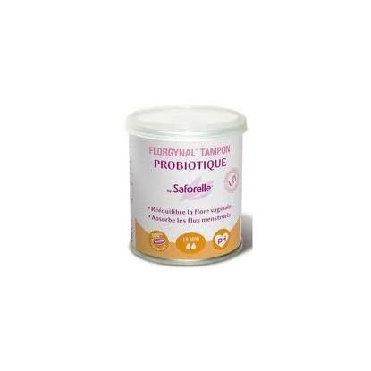 Florgynal Tampon Probiotique Sans Appli Boite de 14