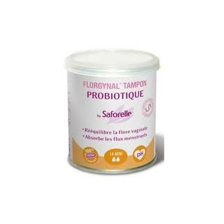 Florgynal Probiotic Tampon (without applicator) Box 14