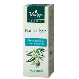 Kneipp Huile Bain Eucalyptus Flacon 100ml