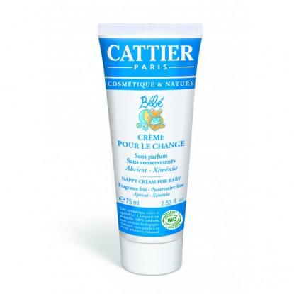 Cattier Crème pour le Change 75ml