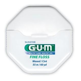 Gum Fils Dentaires Cylindrique cirée 55m