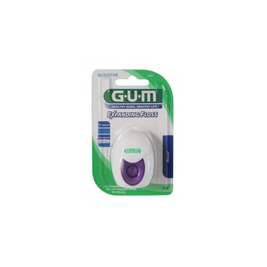 Gum Fils Dentaires Légèrement ciré 30m