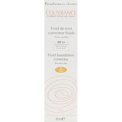 Avene Couvrance Liquid Foundation 03 sand