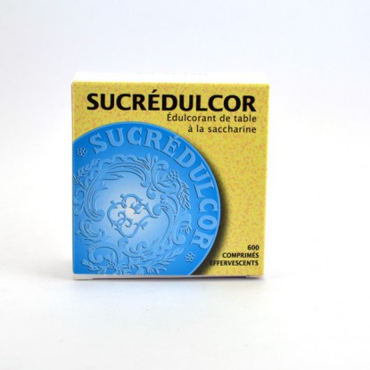 Sucrédulcor 600 Comp effervescents