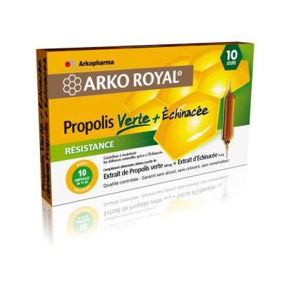 Arko Royale Propolis Verte 10 Ampoules