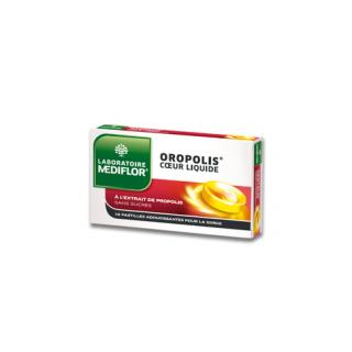 Oropolis Coeur Liquide 16 Pastilles adoucissantes pour la gorge