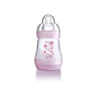 Mam Pink Babybottle 120ml