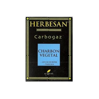 Herbesan Carbogaz Charbon Vegetal 45G