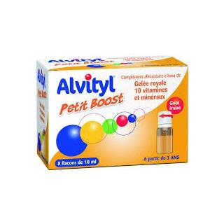 Alvityl Petit Boost 8 Flacons de 10ml à partir de 3 ans