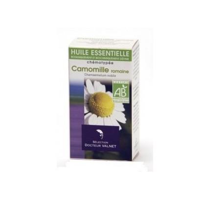 camomille romaine huile essentielle bio valnet5ml