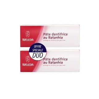 Weleda Dentifrice Ratanhia Duo