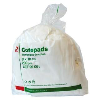 Cotopads 8 X 10cm 200 Pièces