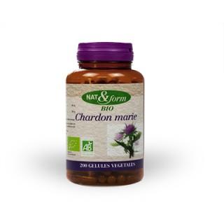 Nat & form Chardon marie bio 200 gélules