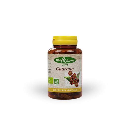 Nat & form Guarana bio 200 gélules