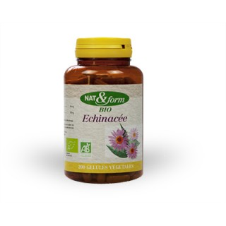 Nat & form Echinacée Bio 200 Gélules
