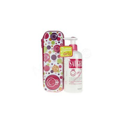 Saugella Girls gel lavant 200ml + trousse offerte
