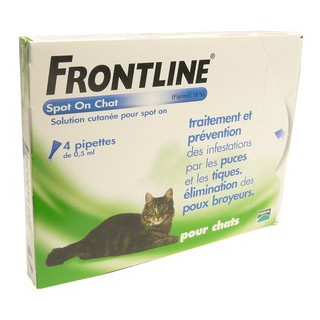 Frontline Spot On Chat 4 Pipettes