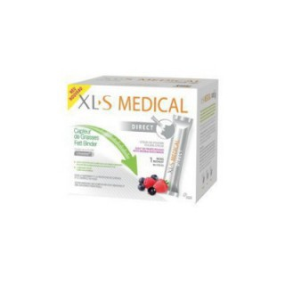 Xls medical Capteur de graisses 1 Mois 90 sticks Goût fruits rouges