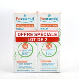 Puressentiel Articulations Lot de 2 Roller 75ml