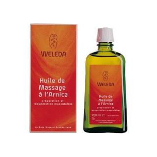 Huile de Massage à l'Arnica Weleda 200ml