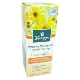 Kneipp Huile Massage Arnica + Gingembre 100ml