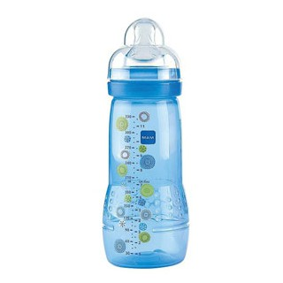 Mam Babybottle age2 330ml Blue Circle