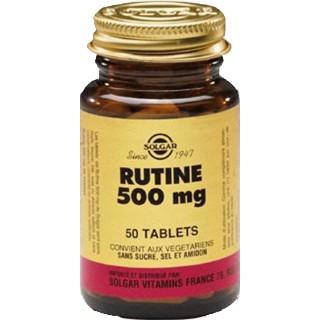 Solgar Rutine 500mg Tablets