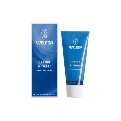 Crème à raser adoucissante Weleda 75ml