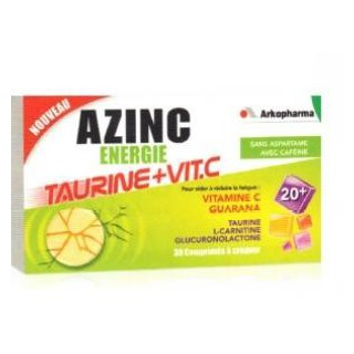 Arko Azinc Energie Taurine+Vit.c 30cprs