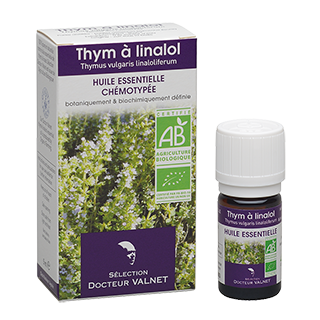 Thym à linalol huile essentielle bio valnet 5 ml