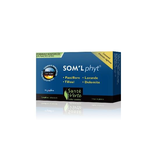 Sommeil'phyt boite de 30 Comprimés - sante verte