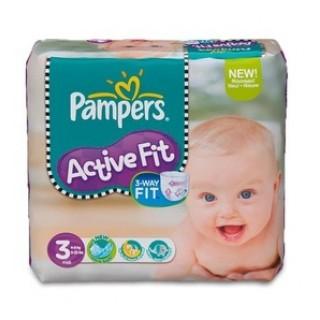 Pampers Active Fit 4-9kg 26 unités