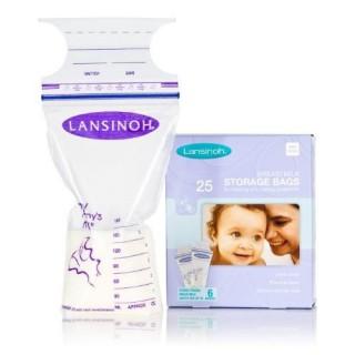 Sachets de conservation du lait maternel Bte 25