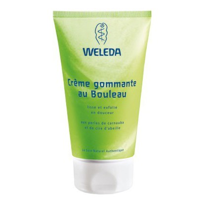 Crème gommante au Bouleau Weleda 150ml
